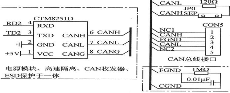 总线接口电路图